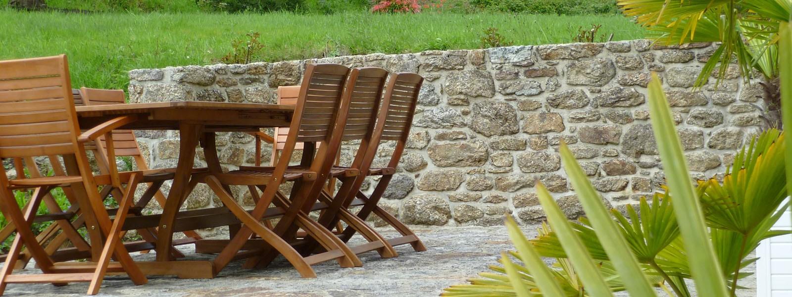 Terrasse La Bergerie - Locations Vacances Bretagne