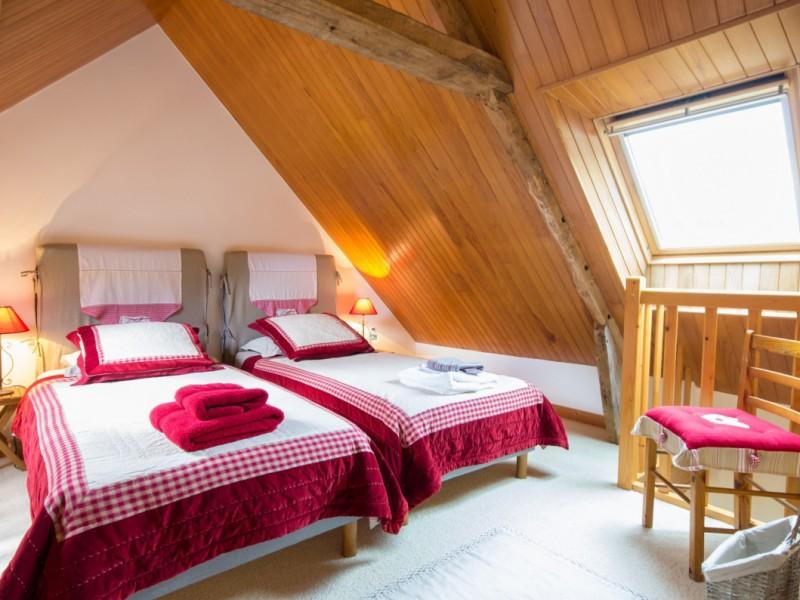 Chambre 1 La Bergerie - Location Maison Bretagne