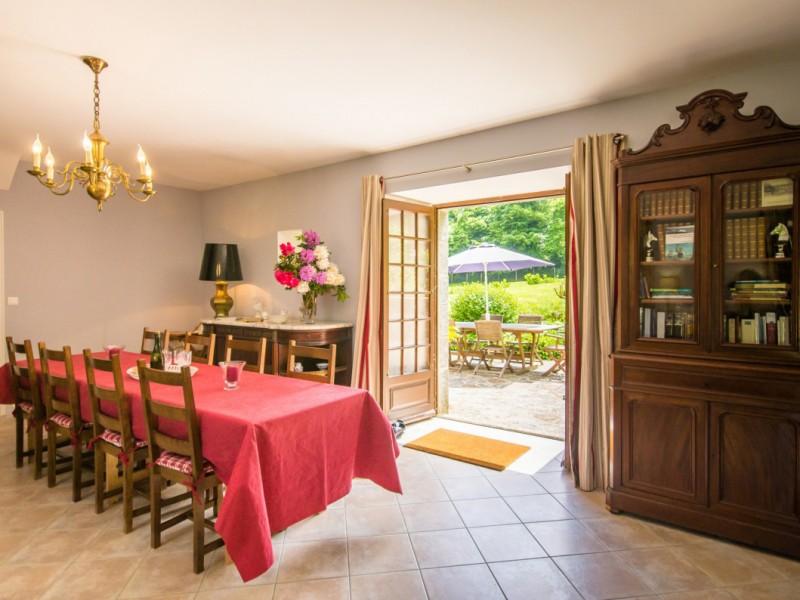 Salle à manger La Bergerie - Location Vacances Bretagne